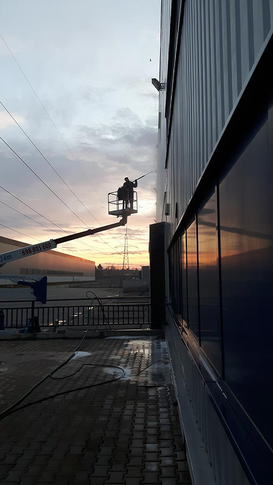 Mycie elewacji blaszanych Mysłowice